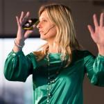 Jacqueline Zuidweg tijdens het Q&A Jubileum, door Hannie Verhoeven